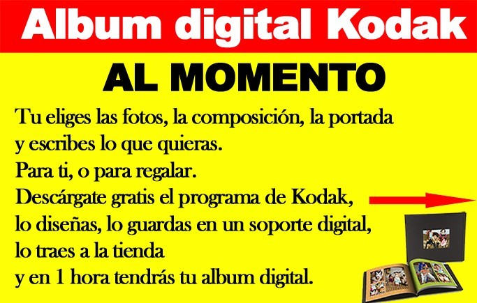 Album digital Kodak